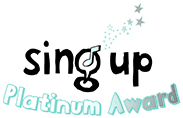 Platinum Sing up award