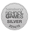 Sainbury's School Games Silver